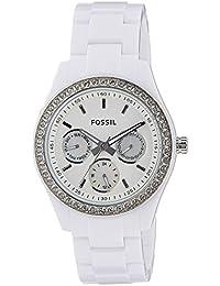 Fossil End of Season Stella Analog White Dial Women's Watch - ES1967I