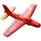 Stunt Flyer Combination Toys Roundabout Aircraft Toy Plane Foam Toys Classic Childhood Toy Crashworthiness Light Customize The Fly Pack Of 12 Ea