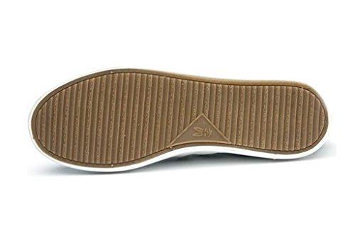 SHFANG Lady Schuhe Classic Thick Bottom Pu Casual Schuhe Bequeme Bewegung School Students Shopping Black White Black