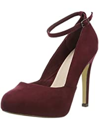 Bianco Ankle Strap Pump Son16 - Tacones Mujer