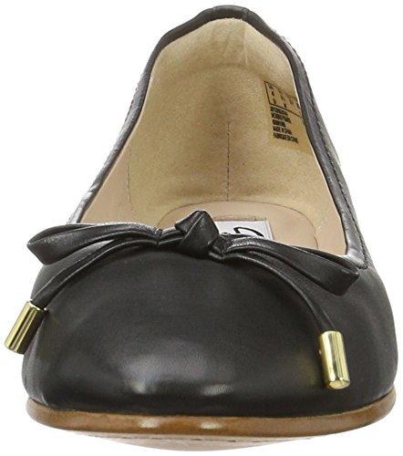 Clarks Damen Grace Lily Geschlossene Ballerinas Schwarz (Black Leather)