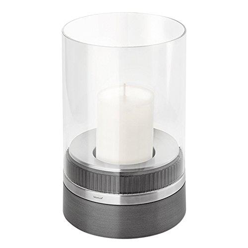 Blomus 65274 Windlicht mit Kerze, Piedra, Höhe 23,5 cm