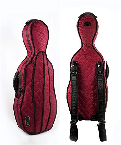 Tonareli viola case cover VACCS1002 for shaped fiberglass - Burgundy