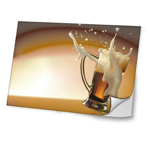 abstracto-10032-cerveza-diseno-mejor-pegatina-de-vinilo-protector-con-efecto-cuero-extraible-adhesiv