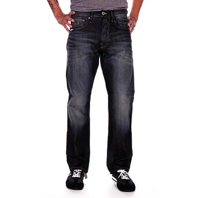 G-Star RAW Men's 3301 Straight-Medium Aged Jeans