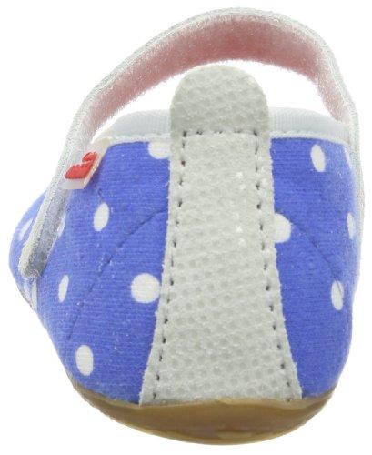 Living Kitzbühel Ballerina Stars & Stripes, Chaussons montants Doublé Chaud fille bleu (blue coral 563)