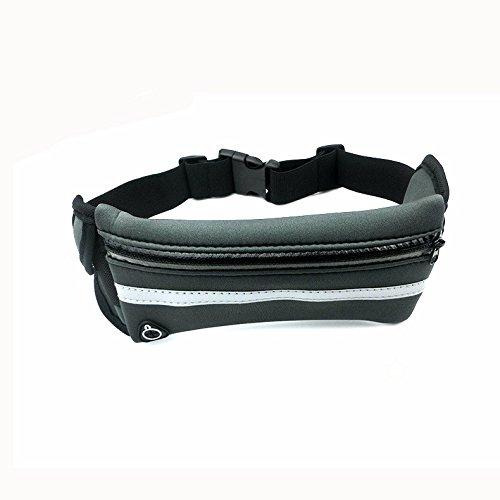 Outdoor-Multifunktionale Reiten Tasche, Männliche Freizeit, Sport Getarnt, Sport-Taille-Tasche Blau