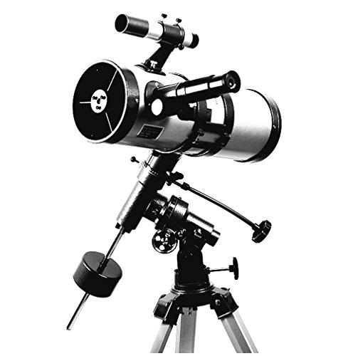 WSHA Teleskop Weltraum Astronomisches Teleskop Äquatorial Mount Reflektor Teleskop Für Beobachtung Stern/Mond / Saturn/Jupiter Orion Mounts