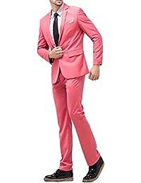 Amazon.it  Rosa - Abiti e giacche   Uomo  Abbigliamento 45f30c6b385