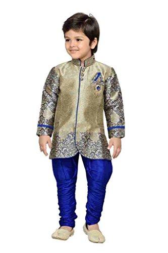 AJ Dezines Kids Party Wear Suit Set for Boys (828_BLUE_8)