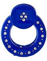 Anuradha Art Blue Colour Simple & Stylish Hair Accessories Classy Clutcher For Women/Girls