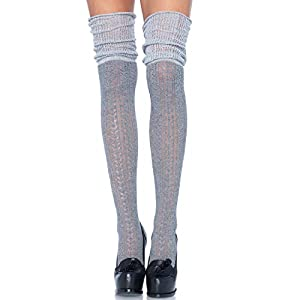 Leg Avenue- Mujer, Color gris, Talla Única (EUR 36-40) (79654)