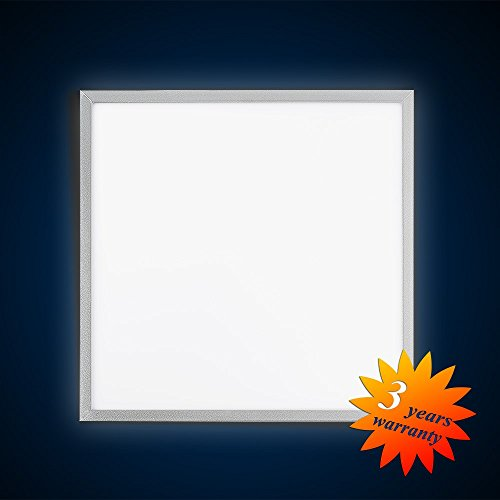 Mextronic LED Panel Deckenpanel Wandpanel Ultraslim LED Panel Pendel 62x62 42W (S) 850 Weß Dimmbar