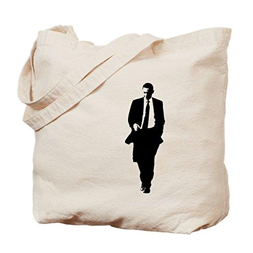 CafePress-Big Obama Silhouette-Leinwand Natur Tasche, Reinigungstuch Einkaufstasche