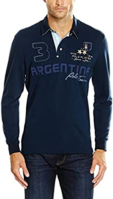 La Martina Man Polo L/S Heavy Jersey, Camiseta para Hombre