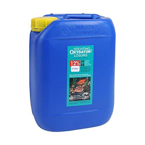 Söchting Oxydator-Lösung 12{6b8fba7abb7b3a7ed8bdeaeaf9f0665e35e3341ab43550d9236f121ae0a3c45b}, 5 Liter Kanister