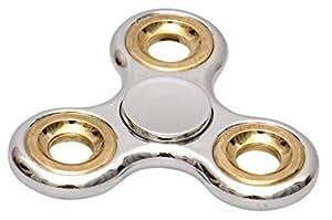 Toyshine Chrome Edition Fidget Spinner, Silver