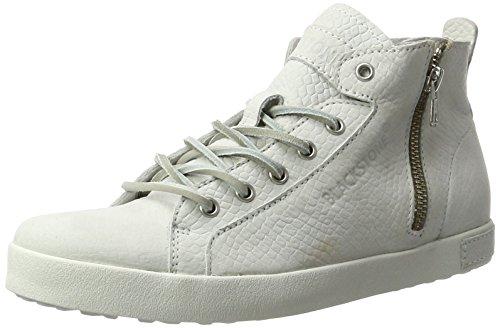 Blackstone Damen NL36 High-Top, Weiß (White), 40 EU (Super-high-top-sneaker)