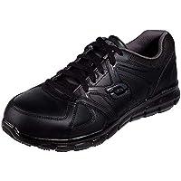 حذاء سينرجي اكرون اندستريال للرجال من سكيتشرز , (أسود رمادي), 43 EU Wide