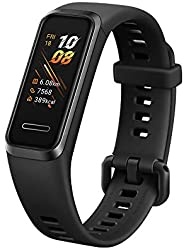 HUAWEI 55024457 Watch Band 4, Black