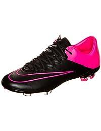 Nike - Botas de fútbol de Material Sintético para niño Multicolor multicolor talla única, infantil, negro, 36.5 EU