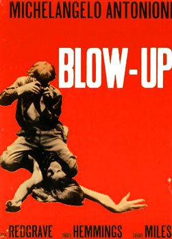 Blow Up Classic Vintage Italian Huge Film PAPER POSTER measures approximately 100x70 cm Greatest Films Collection Directed by Michelangelo Antonioni. Starring Vanessa Redgrave David Hemmings John Castle by Posters du Monde