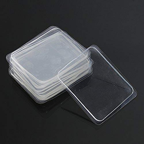 DyNamic 10pcs transparentes Silikon-Gel-Pad Anti-Rutsch-Multifunktion rutschfeste Wandaufkleber freien Klebstoff