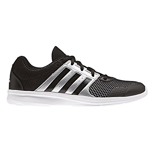 adidas Damen Essential Fun Ii W Laufschuhe Mehrfarbig (Core Black/core Black/silver Met.)