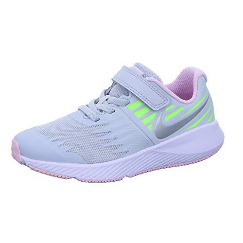Pre-spiel Leichtathletik (Nike Star Runner Sneakers (PSV) aus grauem Segeltuch 921442-005, 34 EU)