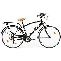 Moma Bikes City 28 Fahrrad, Schwarz, One Size