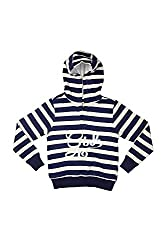 Allen Solly Junior Girls Sweatshirt (AKGSS515812_Blue_9 - 10 years)