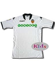 Valencia home shirt junior 2009-10