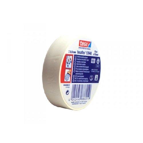 tesa Isolierband, Weich-PVC, weiß, 1000 x 1,5 cm