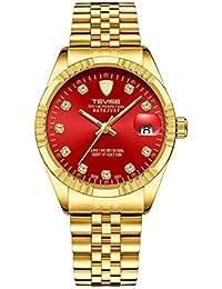 Hermosos Relojes tevise / 629 Taladro Hombres del Reloj mecanico automatico de los Hombres de Moda