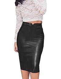 Amazon.fr   Jupes - Femme   Vêtements   Casual 0e03dce98f6