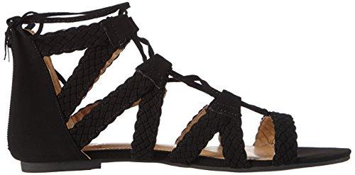Aperti Camoscio 2201 Sandali Strada Donna Nero Di Sandali Nero Micro Similpelle Colore Nero 1XwxxaqFg