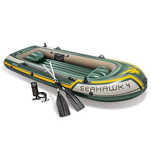 Intex Boot Seahawk 4 Set, mehrfarbig, 351 x 145 x 48 cm/4-teilig