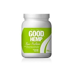 Good Hemp Raw Protein Powder 500g
