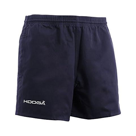 Kooga Murrayfield Men's Rugby Shorts, Black,