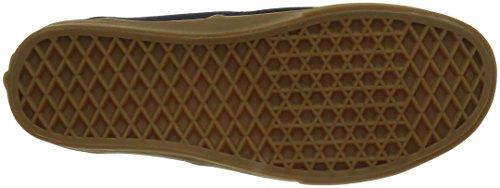 Vans Authentic, Sneakers Basses Mixte adulte Bleu ((Gumsole) eclipse/light gum)