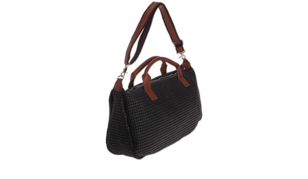 82d22848e4 Paquetage Maxi Cabas Giacomo, Sac porté épaule - Noir: Amazon.fr:  Chaussures et Sacs