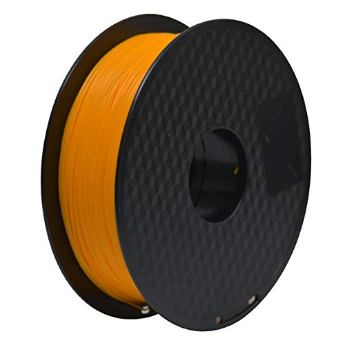 GEEETECH Filament PLA 1.75mm for 3D Drucker 1kg Spool, Orange