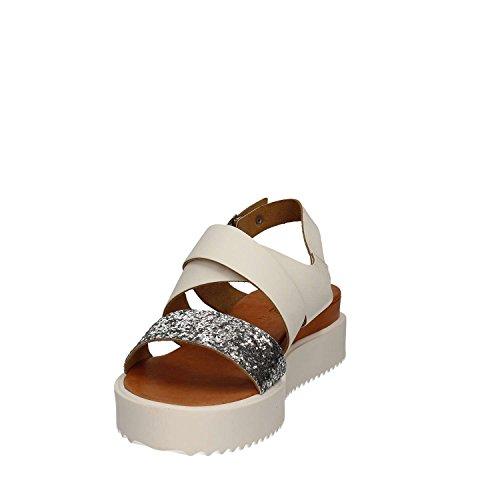 KEYS 5375 Sandalo Donna Bianco