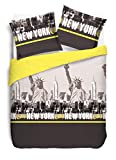Vision Housse de Couette New York Jaune