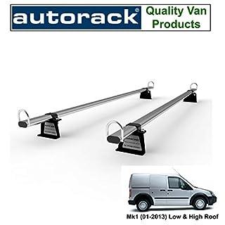 Autorack Workready bars for: Ford Transit Connect Mk1 (2001-2013) Van Roof Rack Bars 2 BARS