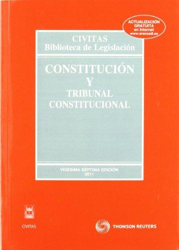 Constitución y Tribunal Constitucional (Biblioteca de Legislación) por Enrique Linde Paniagua