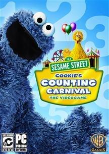 SESAME STREET COOKIE'S COUNT CARNIVAL (SOFTWARE – KINDER) (Kinder Software)
