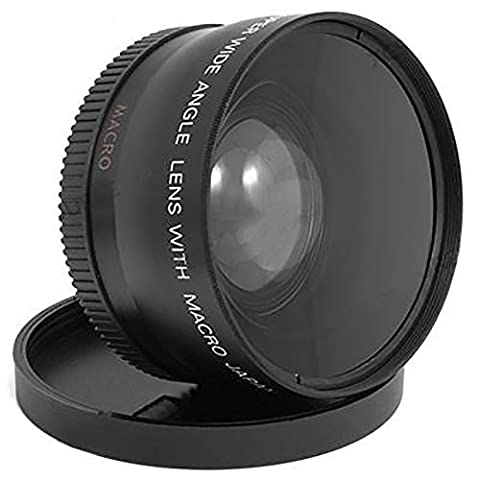 MP Power ® 52mm 0.45x Objectif Marco + Grand Angle + sac set pour Panasonic Lumix GF3 GF5 GF7 Sony Alpha A7 A7II A7S A7R NEX 3 5 6 7 A5100 A6000 Pentax K K-S Olympus OMD E-M5 E-M10 E-PL7 E-PL5 Nikon 1 J4 J5 D7200 D5500 D7100 750D Canon 6D 7D 700D 7D Mark II 28mm f/2.8D AF Nikkor 18-55mm f/3.5-5.6G 55-200mm f/4-5.6 24mm f/2 Nikkor AI-S