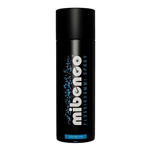 �ssiggummi Spray / Sprühfolie, Neon-Blau Matt, 400 ml - Neue Farbe und Schutz für Oberflächen und zum Felgen lackieren (Blau-spray)