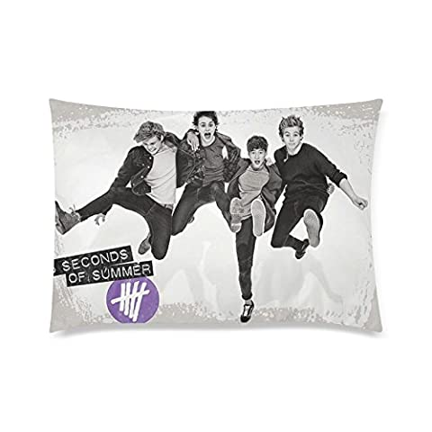 5 Seconds Of Summer Custom Pillowcase Twin Sides Design 20x26 Inchs Throw Pillow case Soft Cotton Home Decor Sets Pillowcases Pattern